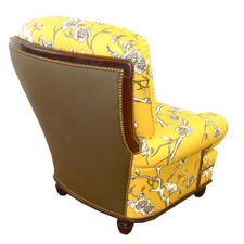 Oversized Chair Reupholstered