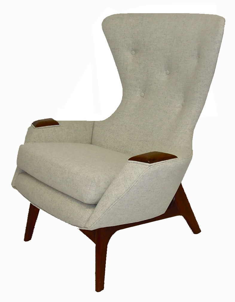 Adrian Pearsall Wing Chair 2231-C