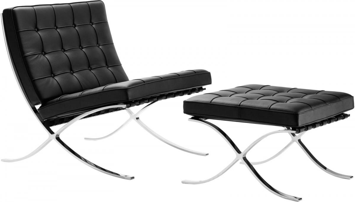 MOD Barcelona Chair and Ottoman