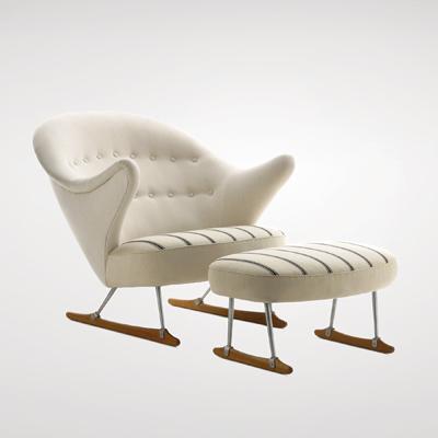 Børge Mogensen Sleigh Chair MOD