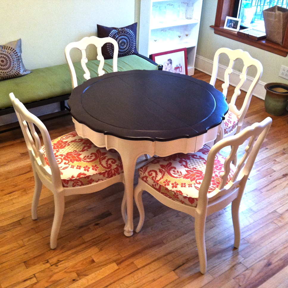 How To Refinish A Wood Table An Old And Chairs Bentwood Modern