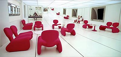 A Space Odyssey and Djinn Chairs