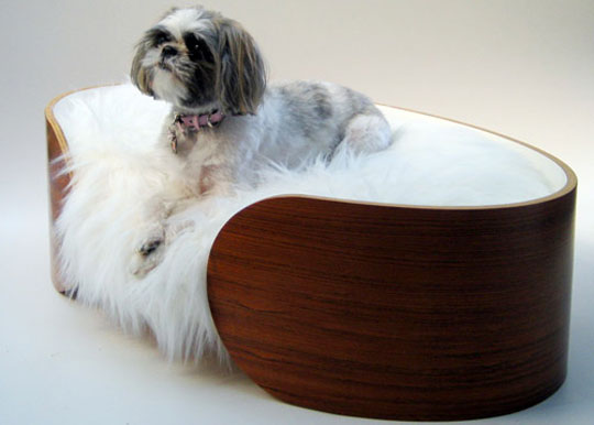Ellipse Dog Bed by Vurv Design