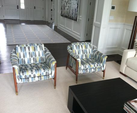 Exceptionnel As You Can See, I LOVE Scandinavian Furniture. These 2 Folke Ohlssen Lounge  Chairs Are Reupholstered In Romo Fabric By MOD. How Awesome?   Mod  Restoration