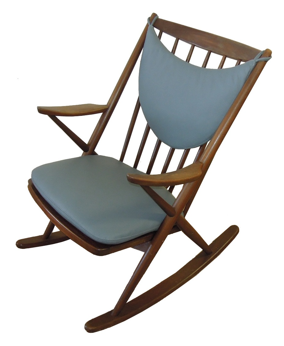 Frank Reenskaug For Brahmin Rocker Chair