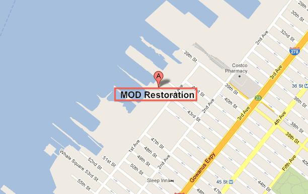 Map of MOD Restoration