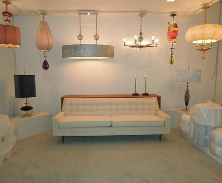My Newly Reupholstered Mid Century Sofa In My Greenpoint