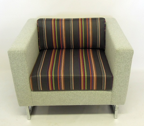 Modern Chair Reupholstered