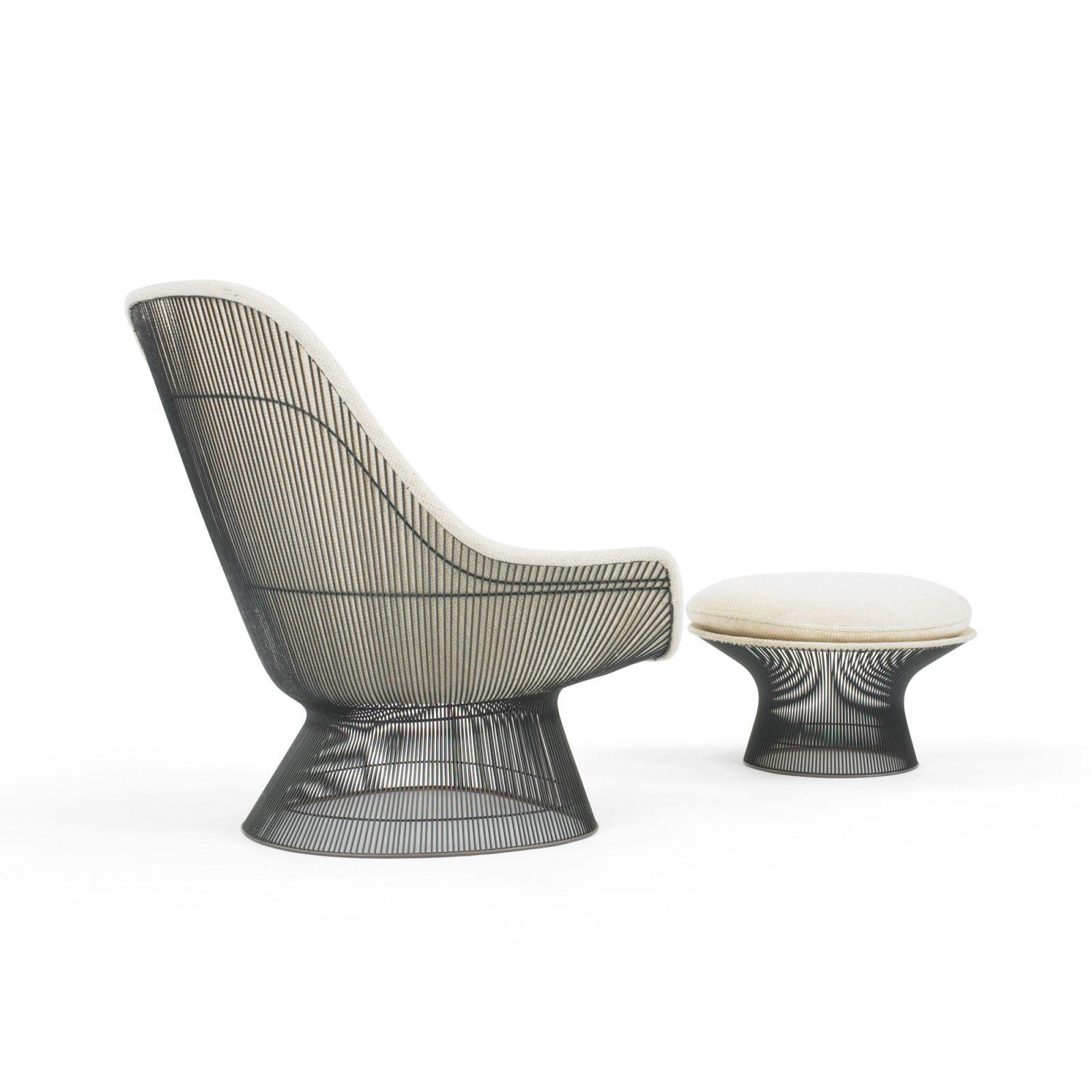 Platner Lounge Chair Reupholstery Mod Restoration