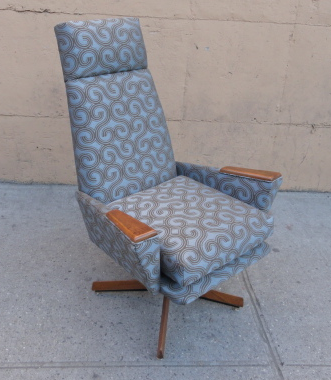 Adrian Pearsall High Back Swivel Chair