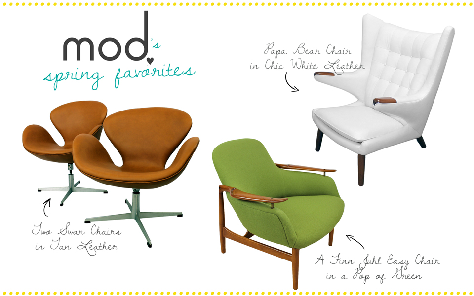 Spring Reupholstery Favorites by Mod