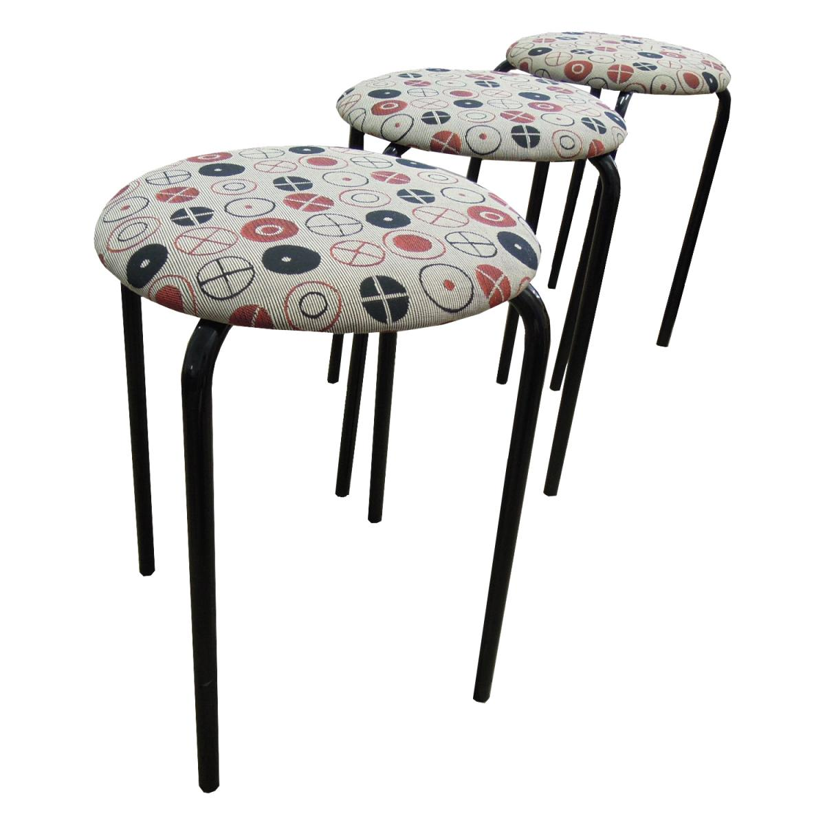 Stools in Maharam Circles